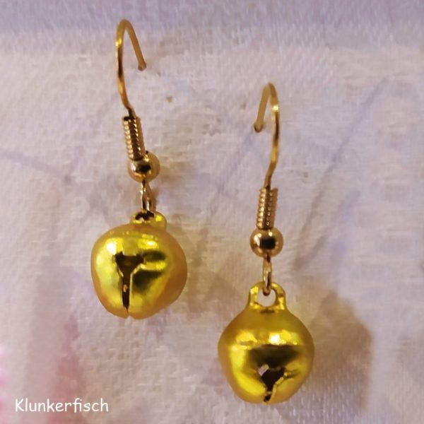Ohrringe *Glöckchen in Gold*