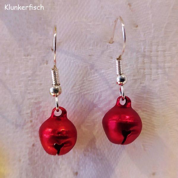 Ohrringe *Glöckchen in Rot*