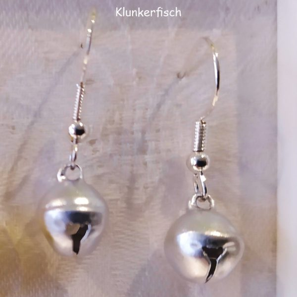 Ohrringe *Glöckchen in Silber*