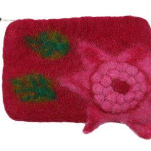 Filz-Täschchen in Pink