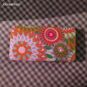 Portemonnaie in Bunt-Orange