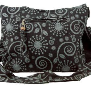 Kleine Sadhu Bag in Schwarz