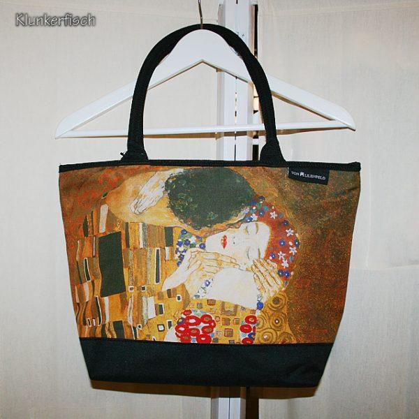 Shopper-Tasche *Klimt's Kuss*