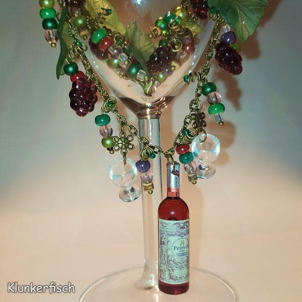 Romantische Halskette *Weinlese*