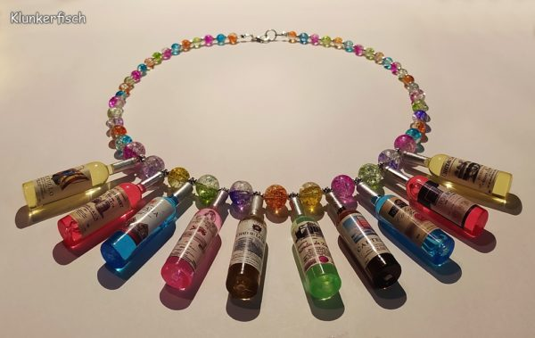 Kunterbunte Halskette *Cocktailparty*