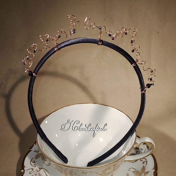 """Bridgerton-Haarreifen / Fascinator """"Prudence"""""""