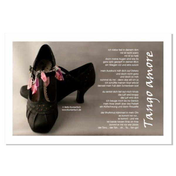 Postkarte mit Gedicht