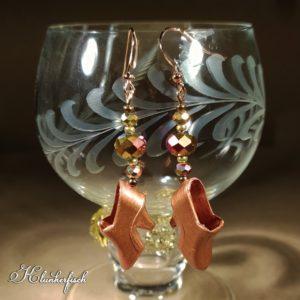 Bridgerton-Ohrringe mit barocken Schuhen