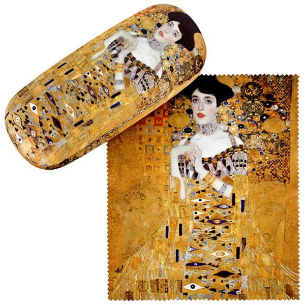 Gustav-Klimt-Brillenetui *Adele*