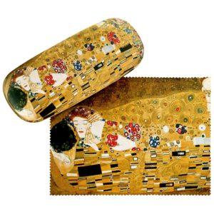 Gustav-Klimt-Brillenetui *Der Kuss*