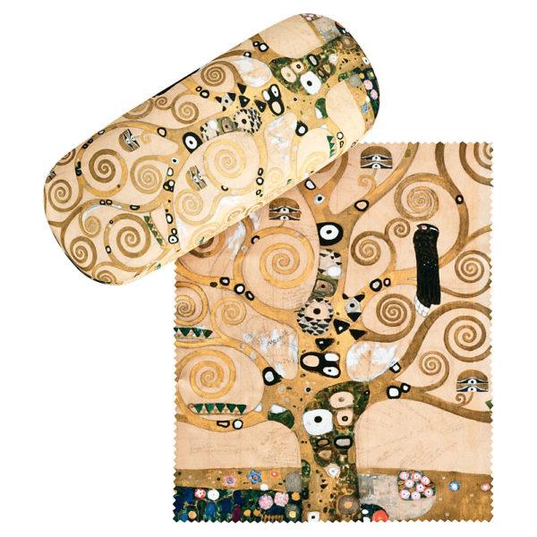 Gustav-Klimt-Brillenetui *Der Lebensbaum*