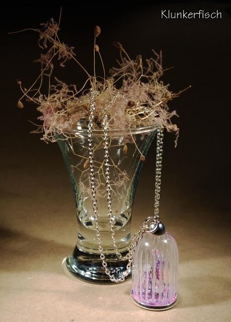 Halskette mit Anhänger *Ewiger Garten*