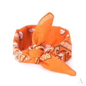 Bandana / Nikki-Tuch in Orange