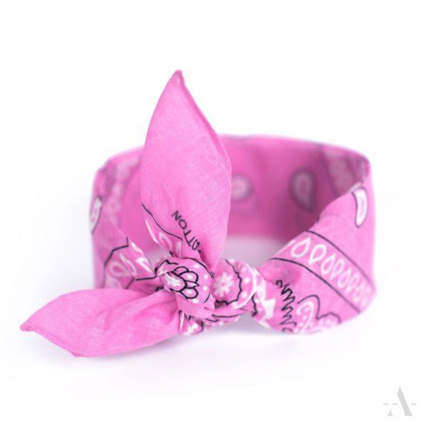 Bandana / Nikki-Tuch in Pink