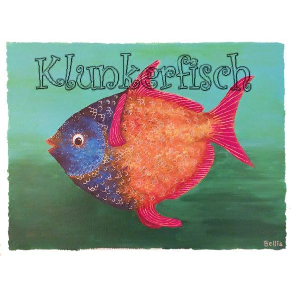 Acrylbild *Opah-Fisch*