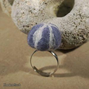 Filz-Kiesel-Ring *Seeigel* (I)